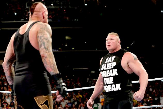 Examining Brock Lesnar's Weak Booking vs. Undertaker