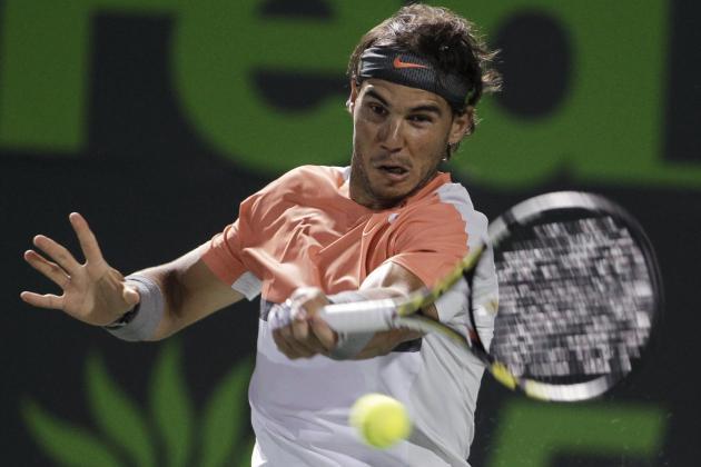 Rafael Nadal's Sony Open Run Will End in Semifinals vs. Tomas Berdych