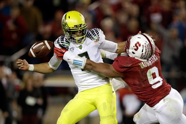 Oregon vs. Stanford: Very Early Look at 1 Game That Will Determine Ducks' 2014