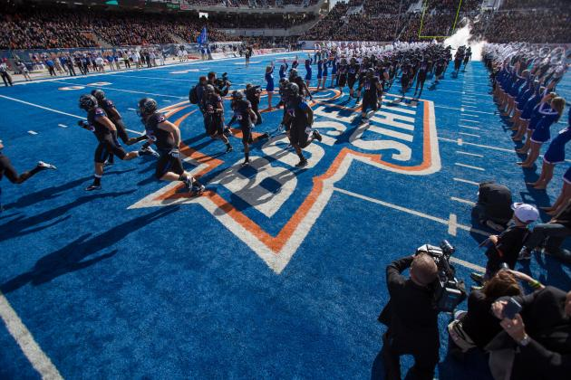 Boise State Denies High School a Blue Football Field