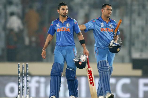 India and MS Dhoni's Only Worry at the 2014 World T20 Is Complacency