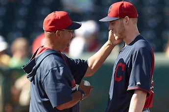 Terry Francona Tells Blake Wood He Made Indians with Awesome Trip to the Mound