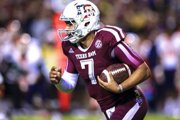 Texas A&M QB Kenny Hill Arrested on Public Intoxication Charge