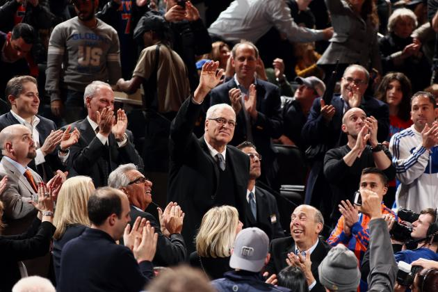 Phil Jackson Reiterates That He Couldn't Coach NY Knicks Even If He Wanted to