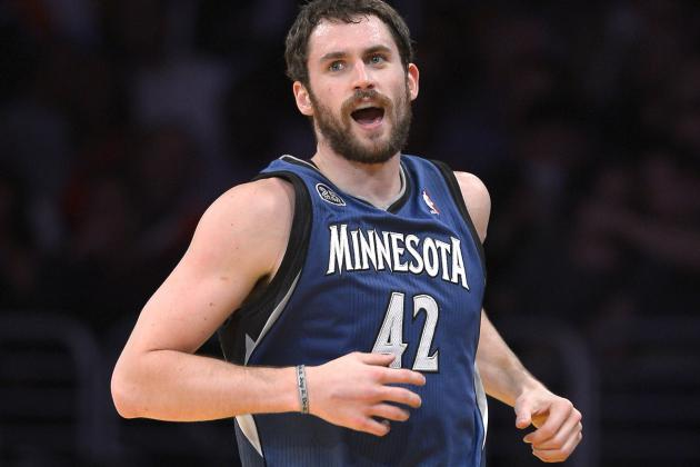 Lakers Could Reportedly Attempt to Trade Lottery Pick for Kevin Love