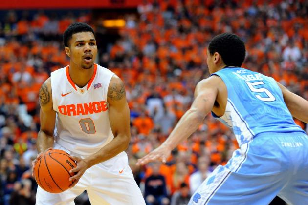 Syracuse Basketball: Previewing Orange's Potential 2014-15 Rotation
