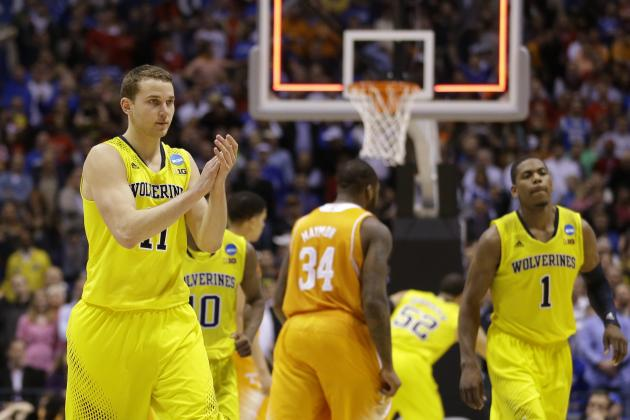 Michigan vs. Tennessee: Live Score, Highlights for Sweet 16 2014