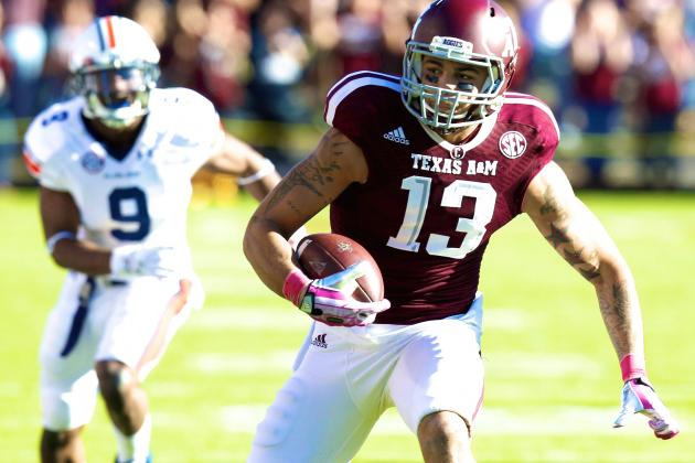 Texas A&M WR Mike Evans Is the Perfect Fit for NFL's Big-Receiver Bias
