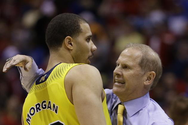 Jordan Morgan Saves the Day, Muscles Michigan Into Elite Eight