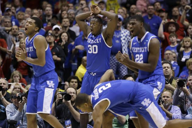 Grown-Up Kentucky a Heavyweight After Ousting Louisville in Sweet 16 Thriller