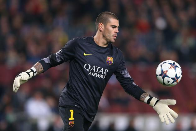 Victor Valdes Leaves a Huge Hole in the Barcelona Net