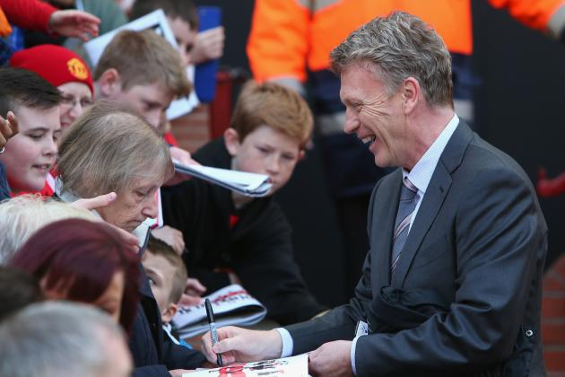 Manchester United vs. Aston Villa: Reaction from David Moyes and Paul Lambert