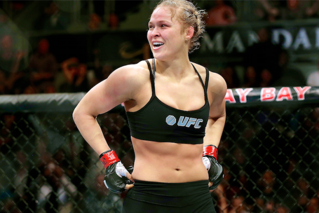 Dear Ronda Rousey: Enough with the Four Horsewomen Stuff—You Don't Measure Up