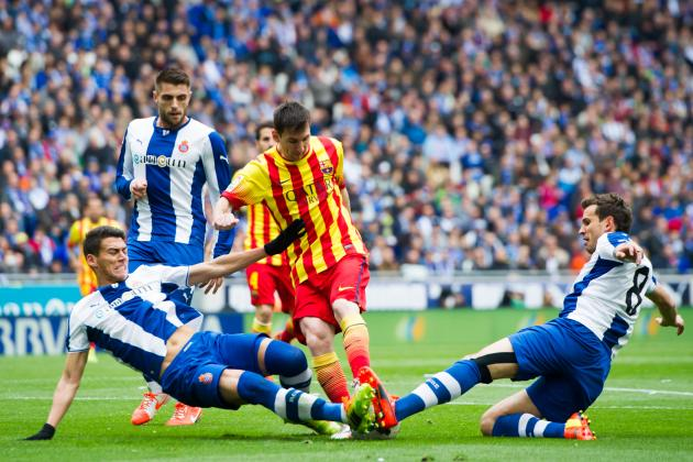 Espanyol vs. Barcelona: Live Player Ratings for Barcelona