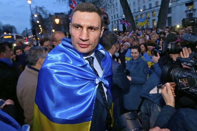 Vitali Klitschko Withdraws from Ukrainian Presidential Election