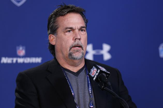 Jeff Fisher: Rams Have Not Yet Discussed No. 2 Pick Trade