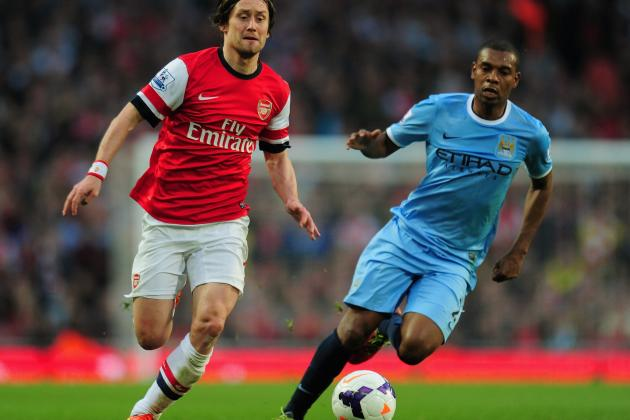 Arsenal vs. Manchester City: Premier League Live Score, Highlights, Report
