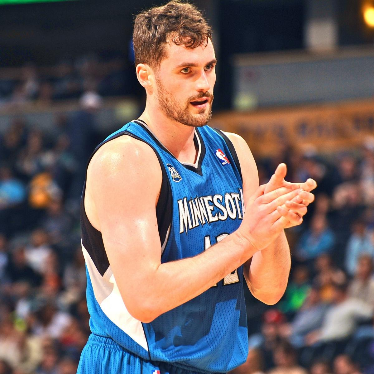 Report: Kevin Love Desires 'Big City,' Would Consider NY ...