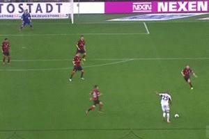 GIF: Naldo Scores Golazo for Wolfsburg vs. Eintracht Frankfurt in Bundesliga