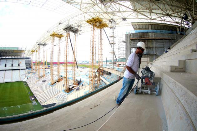 World Cup Worker Dies in Sao Paulo Stadium Accident