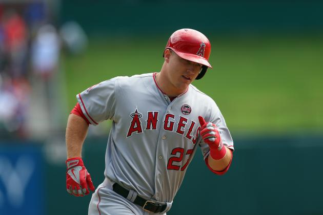 Mike Trout's Contract 2nd-Largest for Player with Less Than 3 Years Service Time