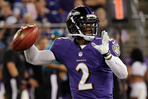 Ravens Backup Tyrod Taylor Understands He'll Face Competition