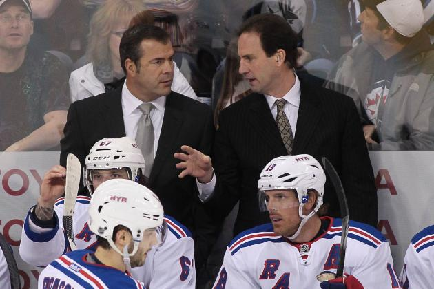 Should Alain Vigneault Tinker with N.Y. Rangers' Lineup to Prepare for Playoffs?