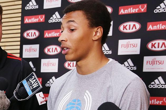 Report: Dante Exum's LA Lakers Preference Won't Scare Away Other Lottery Teams