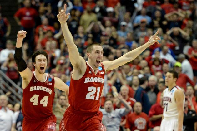 Wisconsin vs. Arizona: Live Score, Highlights for Elite 8