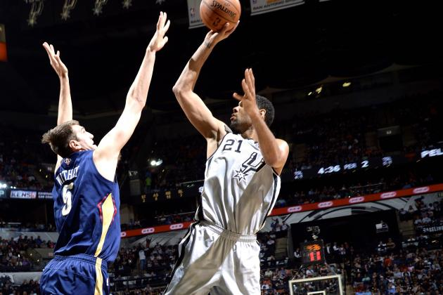 San Antonio Spurs Beat Pelicans to Tie Franchise-High 17-Game Winning Streak