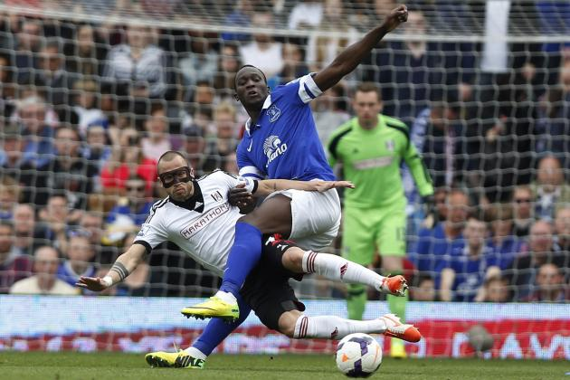 Twitter Reacts to Romelu Lukaku's Performance from Fulham vs. Everton