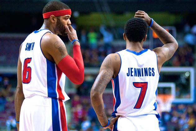 Lowly Detroit Pistons Are Biggest Embarrassment in the NBA