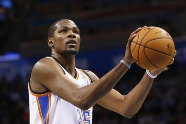 Kevin Durant Within Striking Distance of Michael Jordan Record