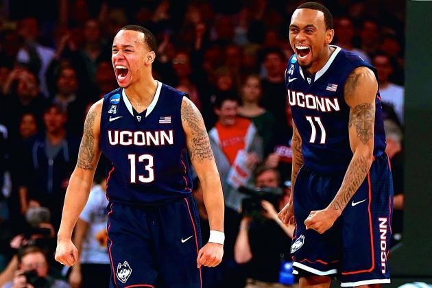 Shabazz Napier Leads Iron-Willed UConn Past Michigan State and into Final Four