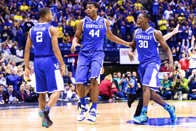 Michigan vs. Kentucky: Score, Twitter Reaction and More from March Madness 2014