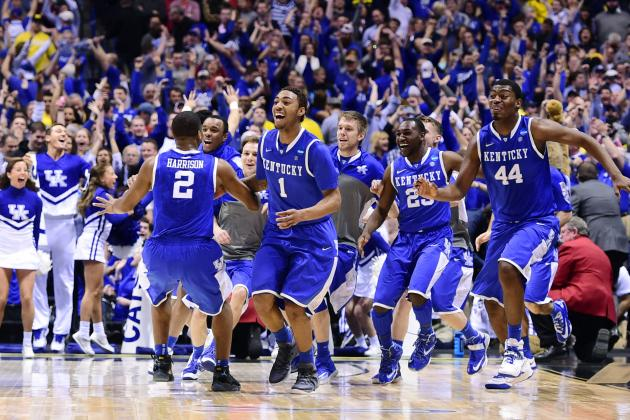 NCAA Tournament 2014 Scores: Breaking Down Elite 8 Day 2 Action