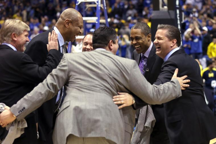 Aaron Harrison's Game-Winner Made Kentucky's Coaches and AD a Lot of Money