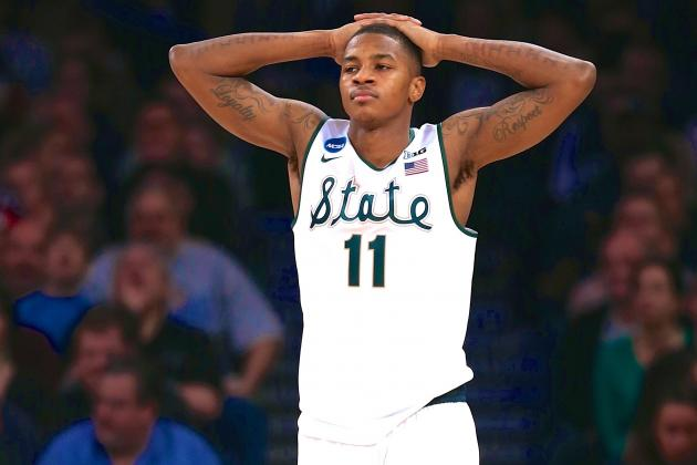 Rare Postseason Meltdown Leaves Spartans Just Short of Final Four
