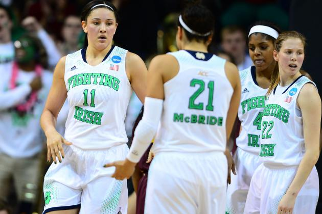 NCAA Women's Basketball Bracket 2014: TV Schedule and Predictions for Elite 8