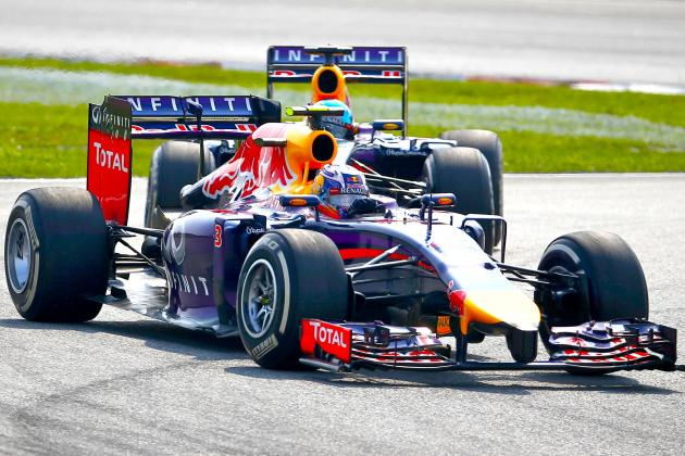Red Bull's Aero Package Has Them Trailing Only Mercedes Following Malaysian GP