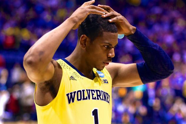 Michigan Beaten at Its Own Game as Kentucky Sends U-M Home in 2014 Elite 8