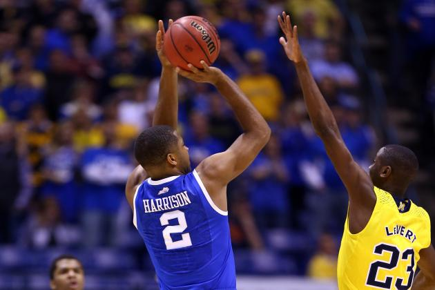 "Kentucky's Dakari Johnson on Aaron Harrison: ""He Got Big Nuts, to Be Honest"""