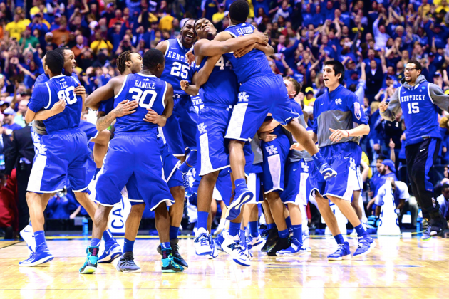 March Madness 2014: No Moment Too Big as Freshmen Power Kentucky to Final Four