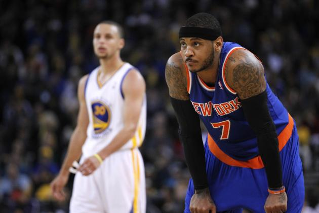 Knicks Spoil Night for Wizards and Nets by Beating Golden State Warriors