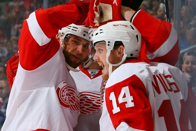 Detroit Red Wings' Playoff Hopes Resting on Young Shoulders