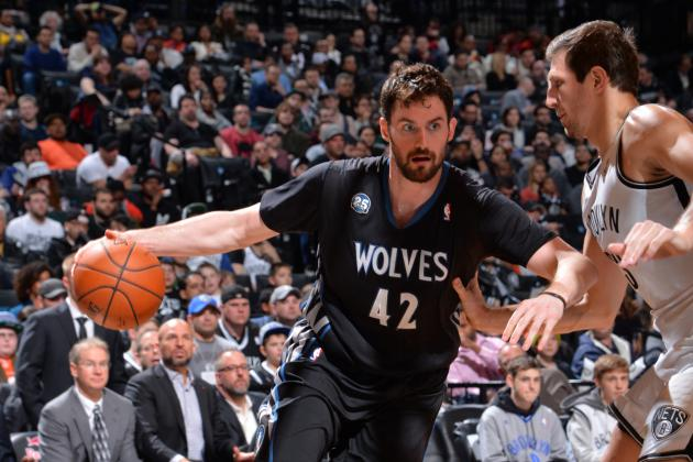 Nets Keep Timberwolves' Kevin Love Quiet