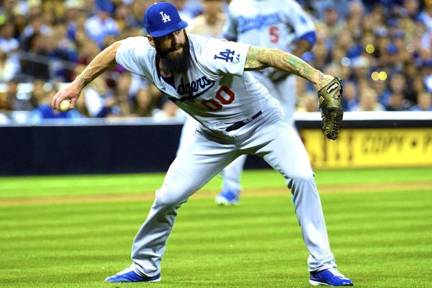 Brian Wilson's Opening-Night Implosion Gives Dodgers Cause for Concern