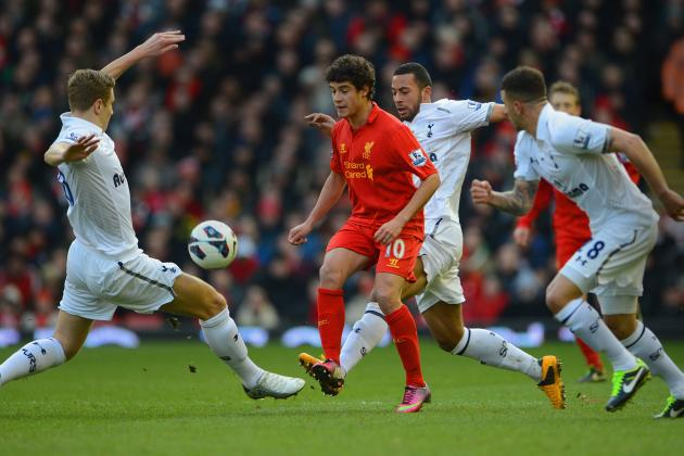 Film Focus: Liverpool's Midfield Overpowers and Overruns Tottenham's Weak Link