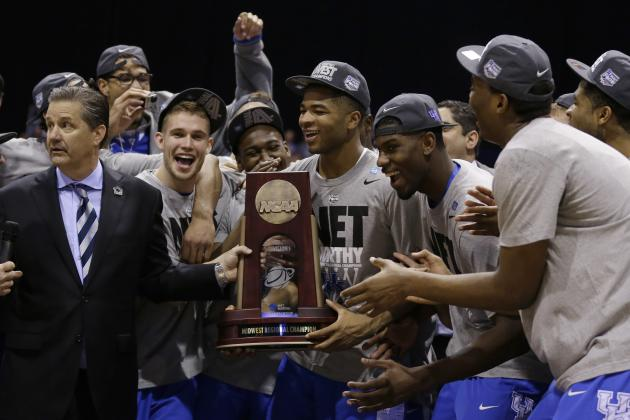 NCAA Tournament 2014 Schedule: Updated Bracket and Final Four Viewing Info