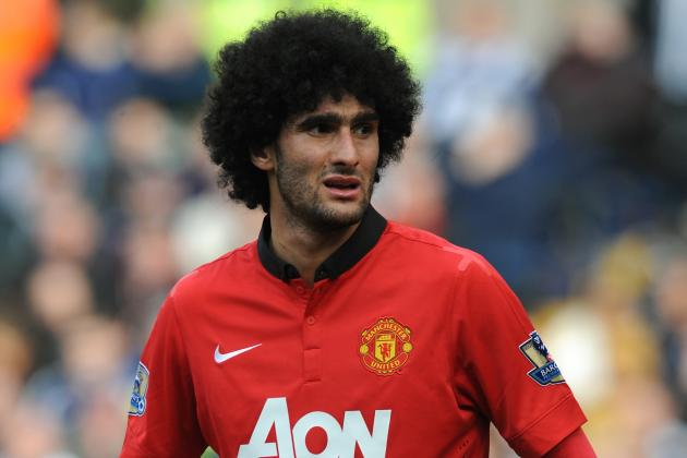 Marouane Fellaini Avoids FA Action Following Spitting Allegations